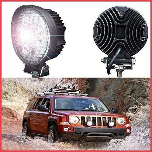 9-led-round-fog-light-4-inch-flood-led-work-light-waterproof-driving-fog-lamp-with-clamps-for-off-road-truck-car-bike-atv-suv-jeep-boat-chevrolet-van-27w-pack-of-2