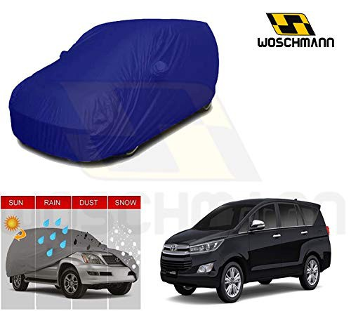 woschmann-blue-weatherproof-car-body-cover-for-outdoor-indoor-protect-from-rain-snow-uv-rays-sun-g7-with-mirror-pocket-compatible-with-toyota-innova-crysta