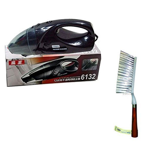 coido-combo-of-6132-car-vacuum-cleaner-and-wooden-brush