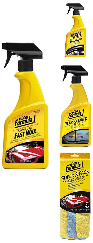 formula-1-car-exterior-care-kit-fast-wax-473ml-glass-cleaner-710ml-tire-shine-680ml-super-2-pack-microfiber-cloth