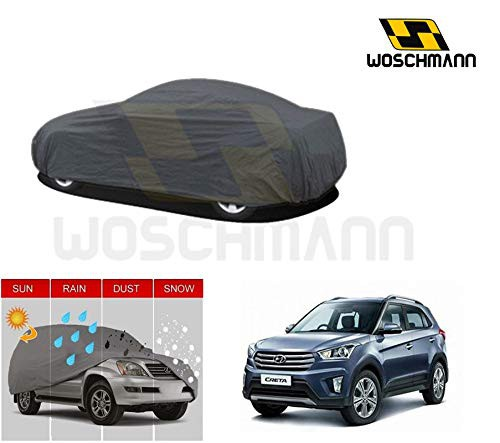 woschmann-grey-weatherproof-car-body-cover-for-outdoor-indoor-protect-from-rain-snow-uv-rays-sun-g9-with-mirror-pocket-compatible-with-hyundai-creta