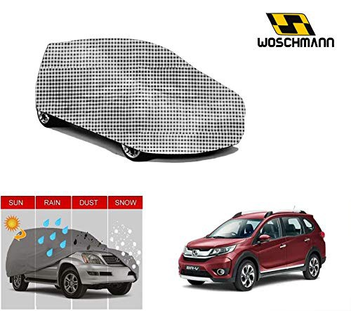 woschmann-checks-weatherproof-car-body-cover-for-outdoor-indoor-protect-from-rain-snow-uv-rays-sun-g7-with-mirror-pocket-compatible-with-honda-brv