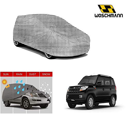 woschmann-checks-weatherproof-car-body-cover-for-outdoor-indoor-protect-from-rain-snow-uv-rays-sun-g7-with-mirror-pocket-compatible-with-mahindra-tuv300
