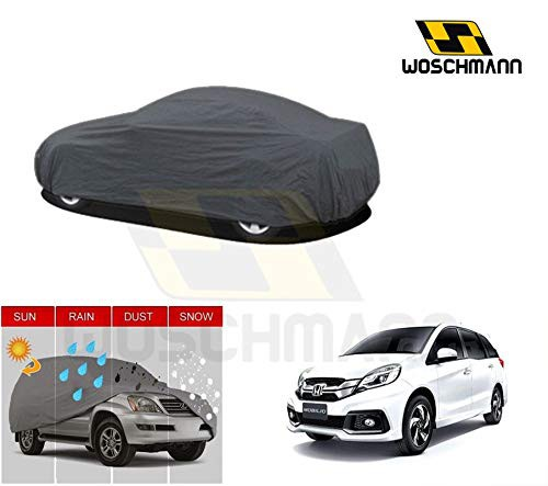 woschmann-grey-weatherproof-car-body-cover-for-outdoor-indoor-protect-from-rain-snow-uv-rays-sun-g9-with-mirror-pocket-compatible-with-honda-mobilio