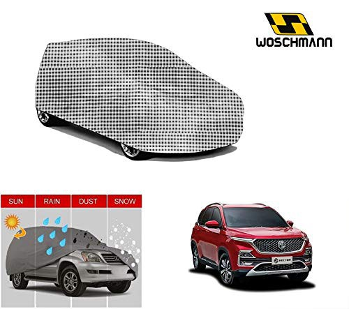 woschmann-checks-weatherproof-car-body-cover-for-outdoor-indoor-protect-from-rain-snow-uv-rays-sun-g9-with-mirror-pocket-compatible-with-mg-hector