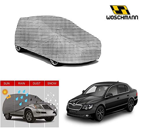 woschmann-checks-weatherproof-car-body-cover-for-outdoor-indoor-protect-from-rain-snow-uv-rays-sun-g5xl-with-mirror-pocket-compatible-with-skoda-superb