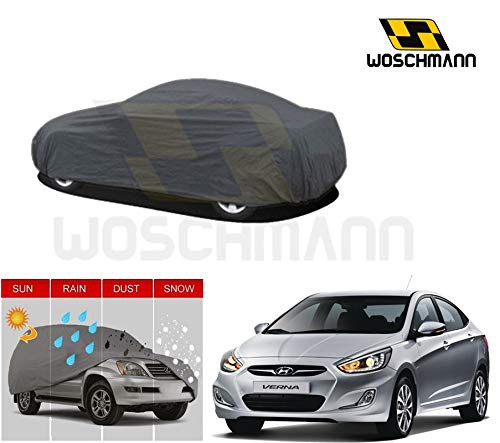 woschmann-grey-weatherproof-car-body-cover-for-outdoor-indoor-protect-from-rain-snow-uv-rays-sun-g5-with-mirror-pocket-compatible-with-hyundai-verna-fluidic