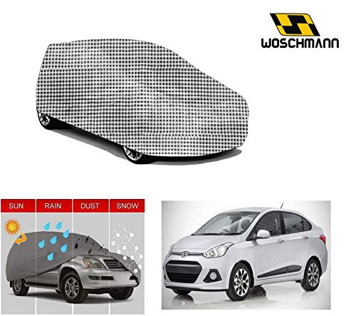 woschmann-checks-weatherproof-car-body-cover-for-outdoor-indoor-protect-from-rain-snow-uv-rays-sun-g4-with-mirror-pocket-compatible-with-hyundai-xcent
