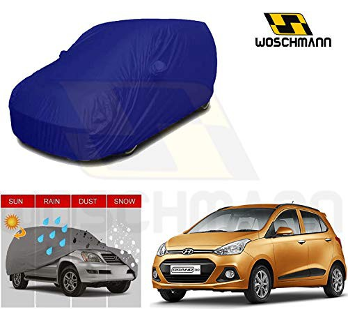 woschmann-blue-weatherproof-car-body-cover-for-outdoor-indoor-protect-from-rain-snow-uv-rays-sun-g3xl-with-mirror-pocket-compatible-with-hyundai-grand-i10
