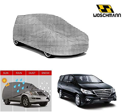 woschmann-checks-weatherproof-car-body-cover-for-outdoor-indoor-protect-from-rain-snow-uv-rays-sun-g7-with-mirror-pocket-compatible-with-toyota-innova