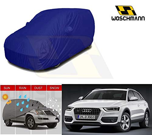 woschmann-blue-weatherproof-car-body-cover-for-outdoor-indoor-protect-from-rain-snow-uv-rays-sun-g7-with-mirror-pocket-compatible-with-audi-q3