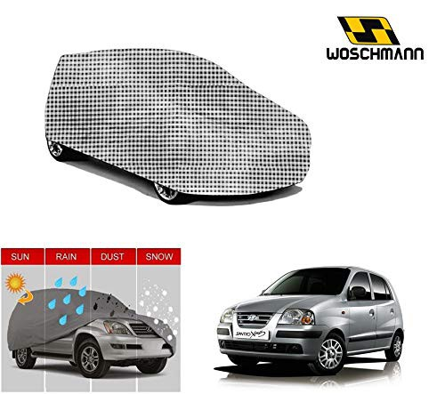woschmann-checks-weatherproof-car-body-cover-for-outdoor-indoor-protect-from-rain-snow-uv-rays-sun-g2-with-mirror-pocket-compatible-with-hyundai-santro-xing
