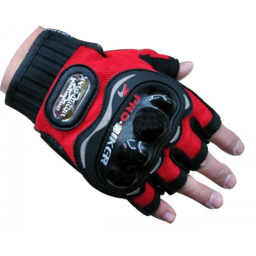 probiker-half-finger-motorcycle-gloves-red