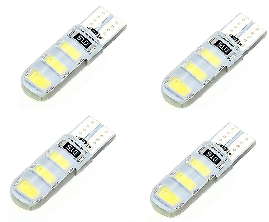 white-6-smd-silica-gel-led-t10-canbus-parking-bulb-light-for-cars-and-bikes-set-of-4