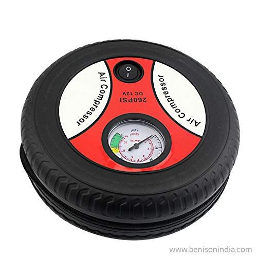 hi-power-tyre-inflator-with-analog-tyre-pressure-gauge-car-tire-tyre-air-pressure-gauge-diagnostic-emergency-tool-air-compressor-tire-tester-meter-manometer-for-auto-car-motorcycle-blue