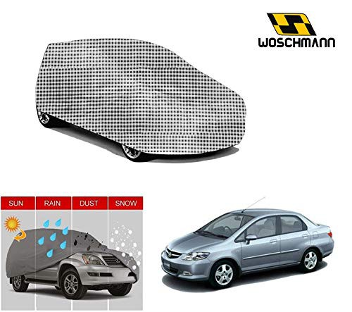 woschmann-checks-weatherproof-car-body-cover-for-outdoor-indoor-protect-from-rain-snow-uv-rays-sun-g5-with-mirror-pocket-compatible-with-honda-city-new