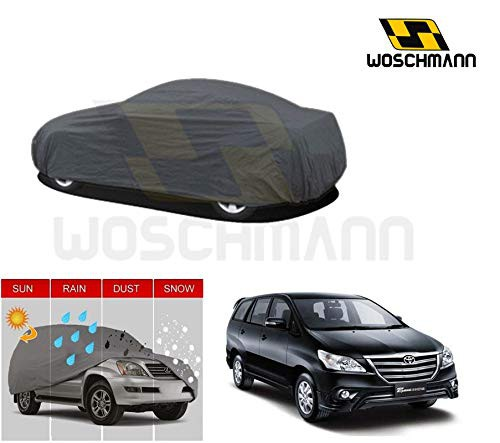 woschmann-grey-weatherproof-car-body-cover-for-outdoor-indoor-protect-from-rain-snow-uv-rays-sun-g7-with-mirror-pocket-compatible-with-toyota-innova