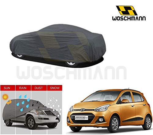 woschmann-grey-weatherproof-car-body-cover-for-outdoor-indoor-protect-from-rain-snow-uv-rays-sun-g3xl-with-mirror-pocket-compatible-with-hyundai-grand-i10