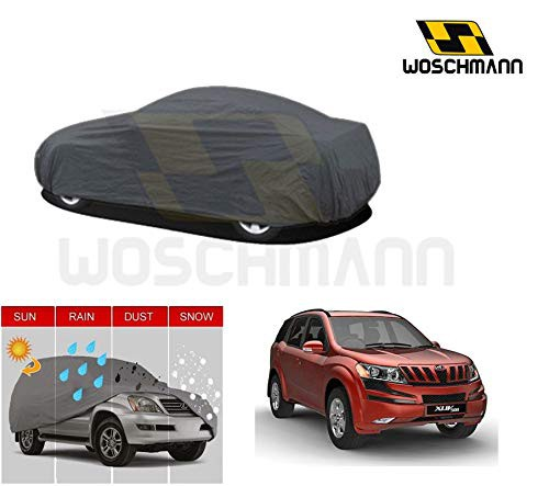 woschmann-grey-weatherproof-car-body-cover-for-outdoor-indoor-protect-from-rain-snow-uv-rays-sun-g7-with-mirror-pocket-compatible-with-mahindra-xuv500