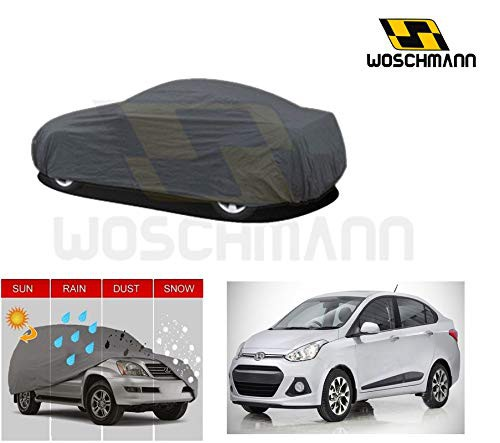 woschmann-grey-weatherproof-car-body-cover-for-outdoor-indoor-protect-from-rain-snow-uv-rays-sun-g4-with-mirror-pocket-compatible-with-hyundai-xcent
