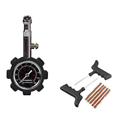 coido-combo-of-tyre-pressure-gauge-and-tubeless-tyre-puncture-kit