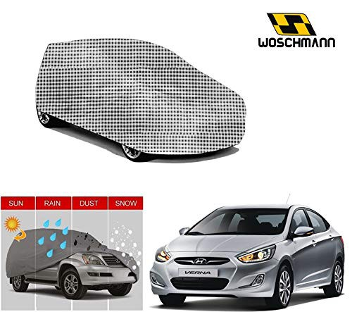 woschmann-checks-weatherproof-car-body-cover-for-outdoor-indoor-protect-from-rain-snow-uv-rays-sun-g5-with-mirror-pocket-compatible-with-hyundai-verna-fluidic