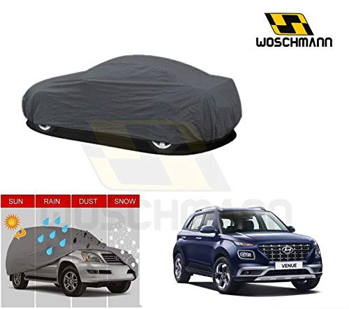 woschmann-grey-weatherproof-car-body-cover-for-outdoor-indoor-protect-from-rain-snow-uv-rays-sun-g9-with-mirror-pocket-compatible-with-hyundai-venue