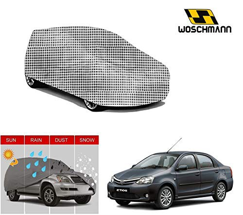 woschmann-checks-weatherproof-car-body-cover-for-outdoor-indoor-protect-from-rain-snow-uv-rays-sun-g5-with-mirror-pocket-compatible-with-toyota-etios