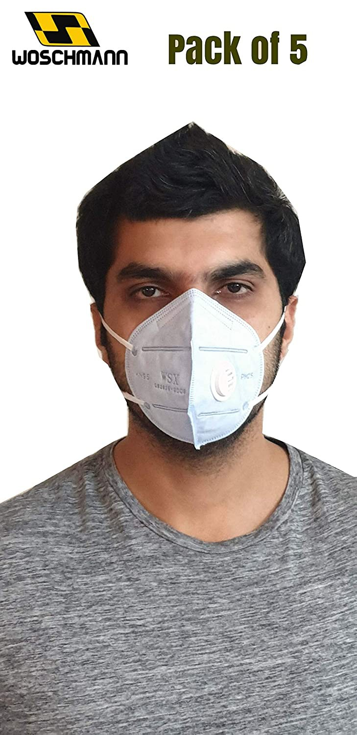 woschmann-kn95-pollution-mask-with-filter-good-to-fight-air-pollution-bacteria-whitepack-of-5