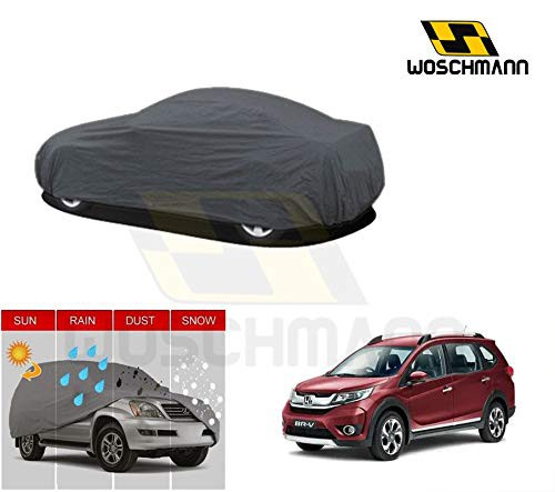 woschmann-grey-weatherproof-car-body-cover-for-outdoor-indoor-protect-from-rain-snow-uv-rays-sun-g7-with-mirror-pocket-compatible-with-honda-brv