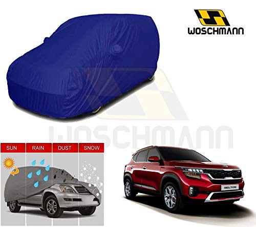 woschmann-blue-weatherproof-car-body-cover-for-outdoor-indoor-protect-from-rain-snow-uv-rays-sun-g9-with-mirror-pocket-compatible-with-kia-seltos