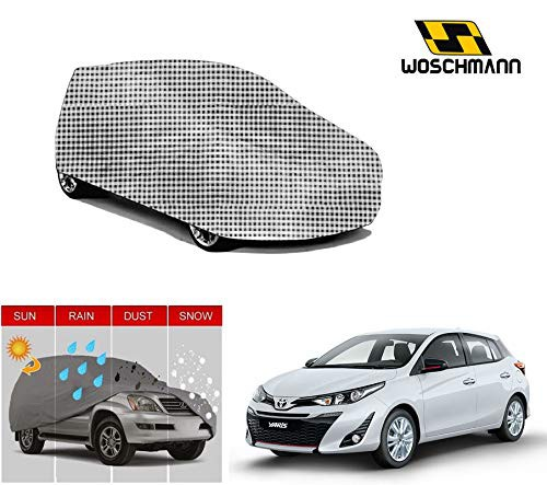 woschmann-checks-weatherproof-car-body-cover-for-outdoor-indoor-protect-from-rain-snow-uv-rays-sun-g5-with-mirror-pocket-compatible-with-toyota-yaris