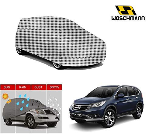 woschmann-checks-weatherproof-car-body-cover-for-outdoor-indoor-protect-from-rain-snow-uv-rays-sun-g7-with-mirror-pocket-compatible-with-honda-crv