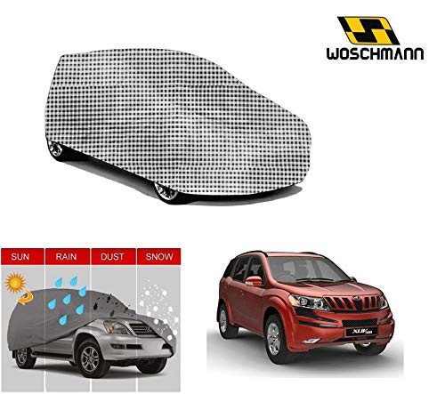 woschmann-checks-weatherproof-car-body-cover-for-outdoor-indoor-protect-from-rain-snow-uv-rays-sun-g7-with-mirror-pocket-compatible-with-mahindra-xuv500