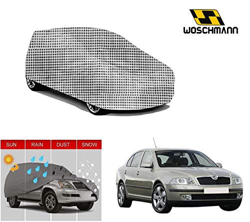 woschmann-checks-weatherproof-car-body-cover-for-outdoor-indoor-protect-from-rain-snow-uv-rays-sun-g5xl-with-mirror-pocket-compatible-with-skoda-laura