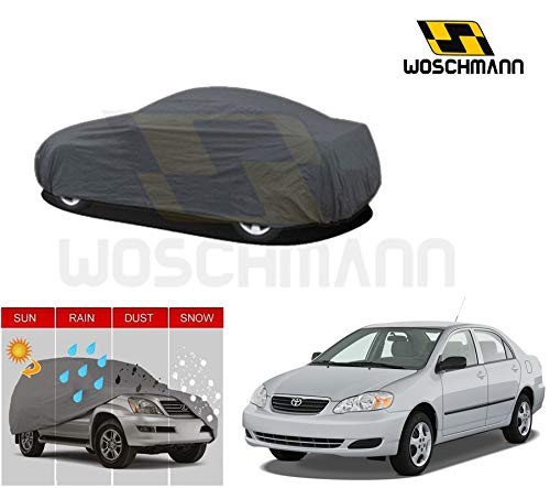 woschmann-grey-weatherproof-car-body-cover-for-outdoor-indoor-protect-from-rain-snow-uv-rays-sun-g5xl-with-mirror-pocket-compatible-with-toyota-corolla