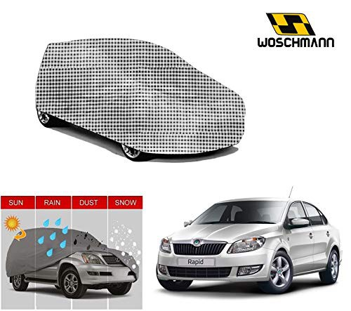 woschmann-checks-weatherproof-car-body-cover-for-outdoor-indoor-protect-from-rain-snow-uv-rays-sun-g5-with-mirror-pocket-compatible-with-skoda-rapid