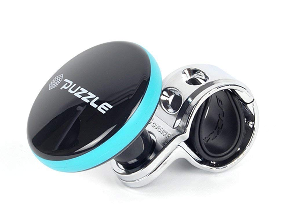 puzzle-vehicle-steering-knob-aqua-blue
