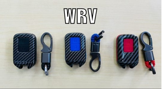 black-carbon-fiber-silicon-car-key-cover-for-honda-wrv