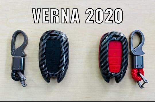 black-carbon-fiber-key-cover-for-hyundai-verna-2020