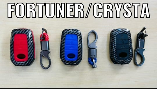 black-carbon-fiber-silicon-car-key-cover-for-toyota-innova-crysta