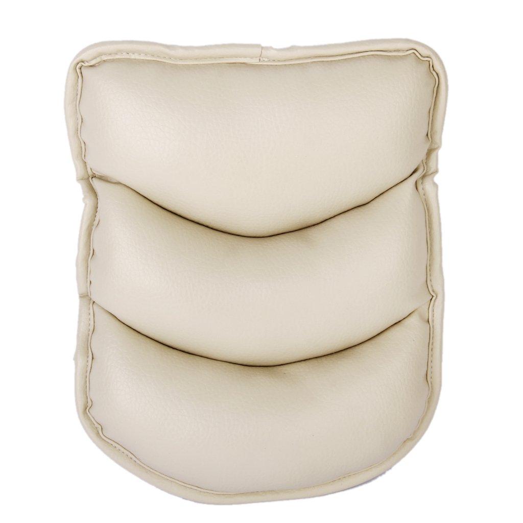memory-foam-car-center-seat-armrest-cushion-pillow-support-pad-interior-trim-beige