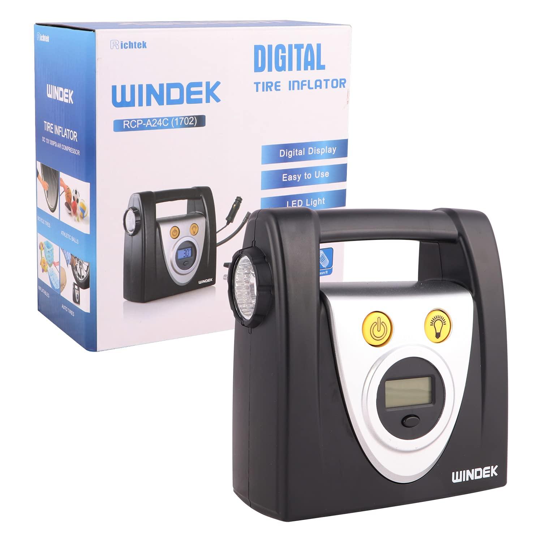 windek-1702-tyre-inflator-portable-easy-to-operate-air-pump-with-digital-display-led-light-black