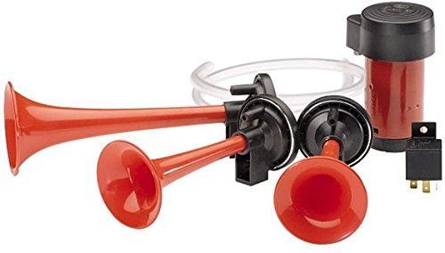 Hella 003001681 Multi-Tone Air Horn (12V,580/780/860 Hz,118 dB @ 2m)