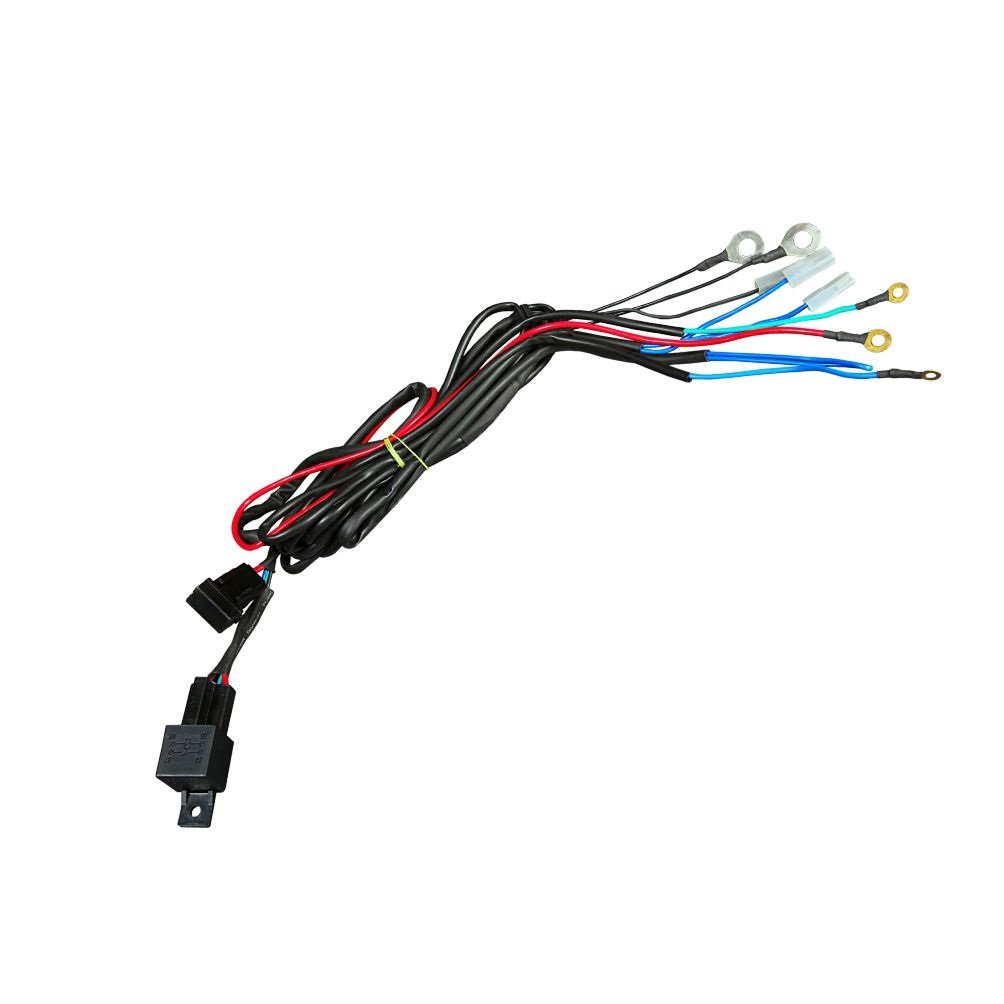 Hella 329.318-001 Horn Relay with Wiring Harness (12V,Relay)