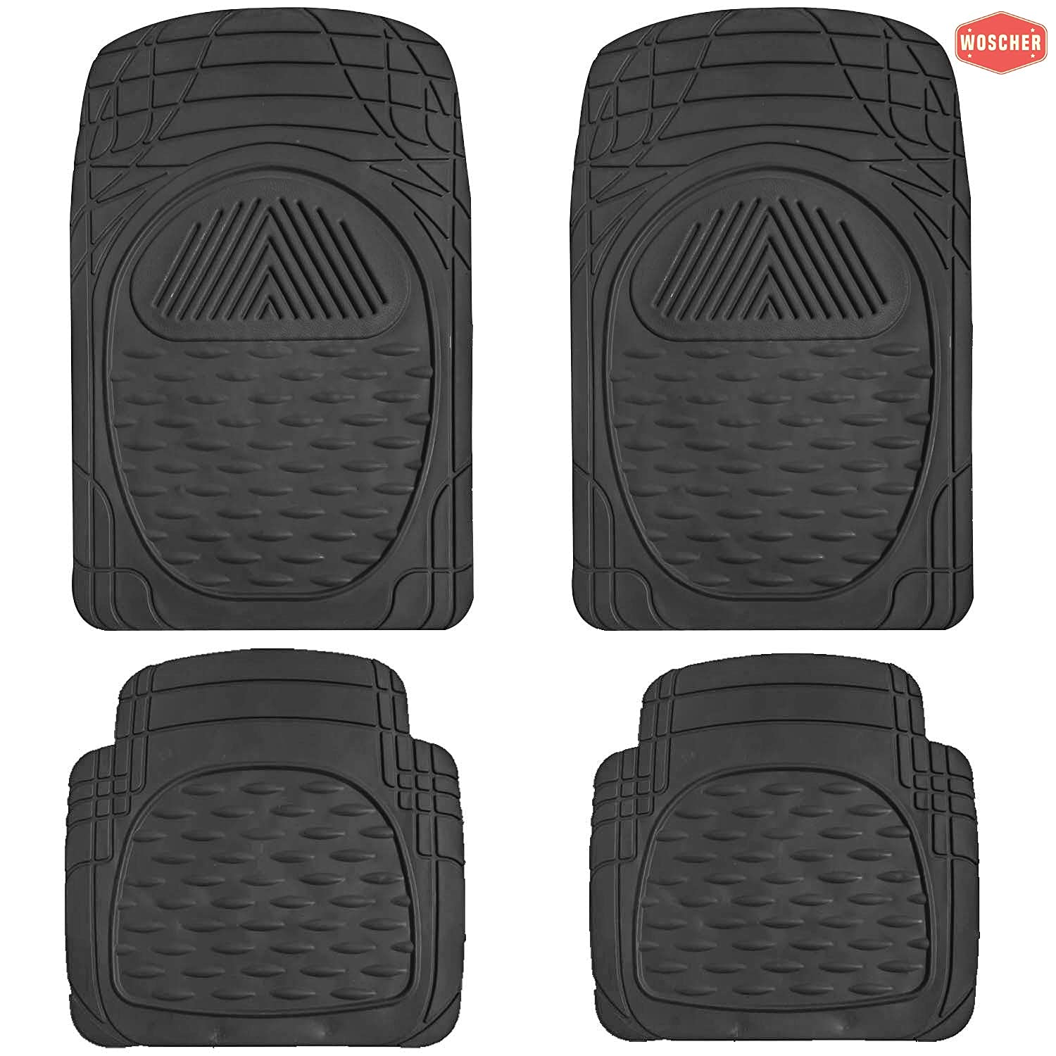 woscher-6204-flex-tough-all-season-odorless-rubber-floor-car-mat-for-car-suv-universal-self-cut-to-perfectly-fit-black