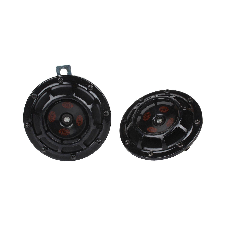 Hella 329300111 Thunder Super Tone Horn Set (12V,310/380 Hz,105-118 dB @ 2m)