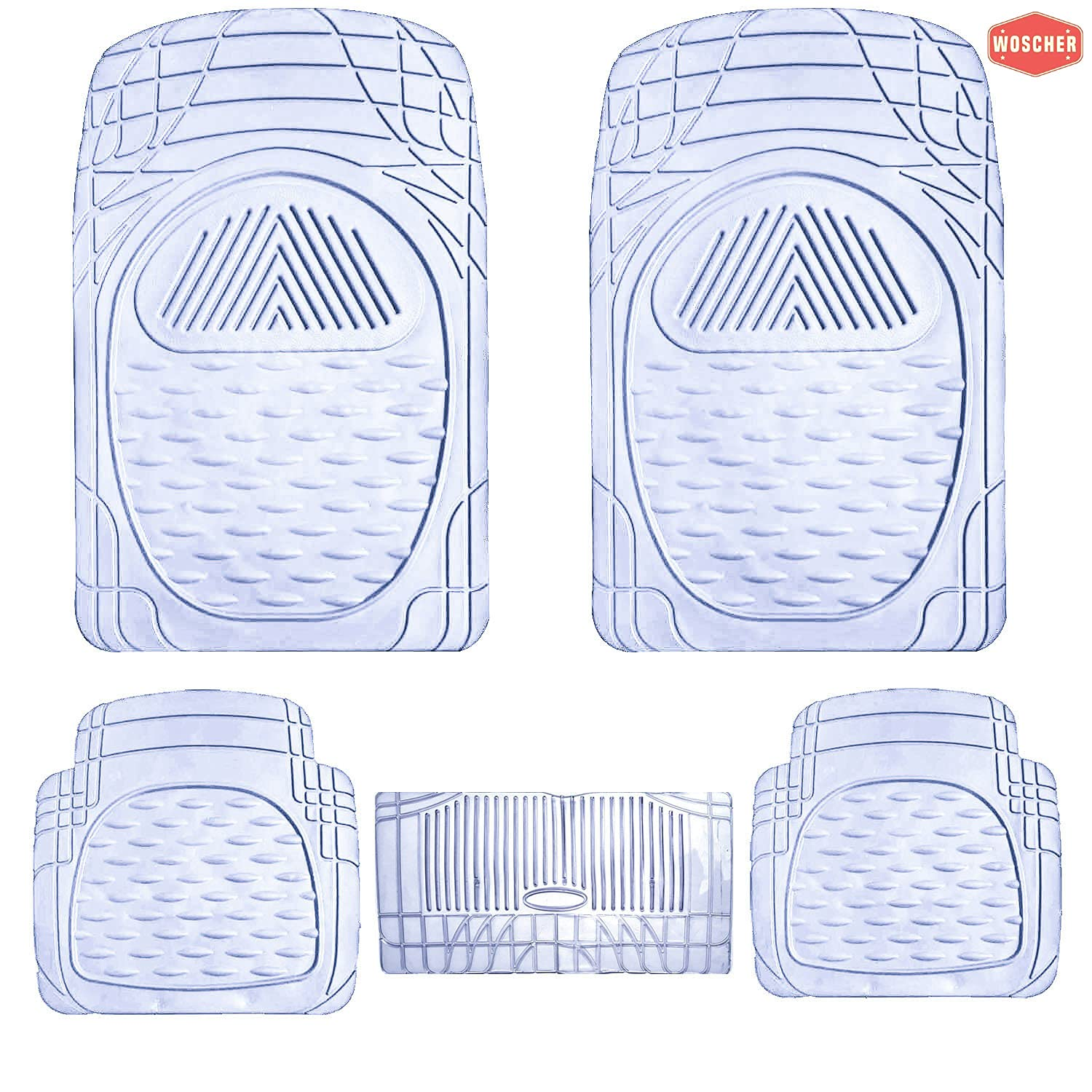 woscher-6204-flextough-all-season-odorless-rubber-floor-car-mat-for-car-suv-universal-self-cut-to-perfectly-fit-clear