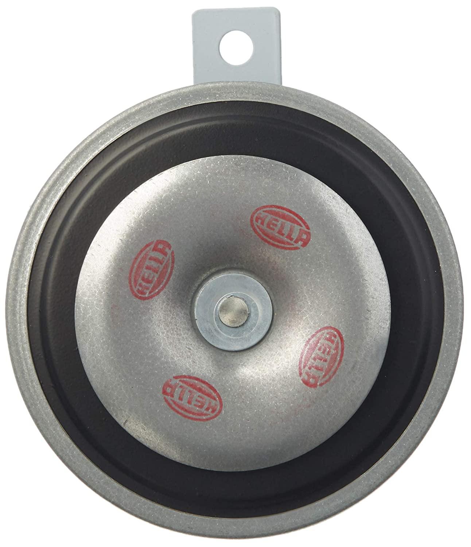 hella 922300091 b36 high tone single electric horn (12v,400 hz,105-118 db @ 2m)