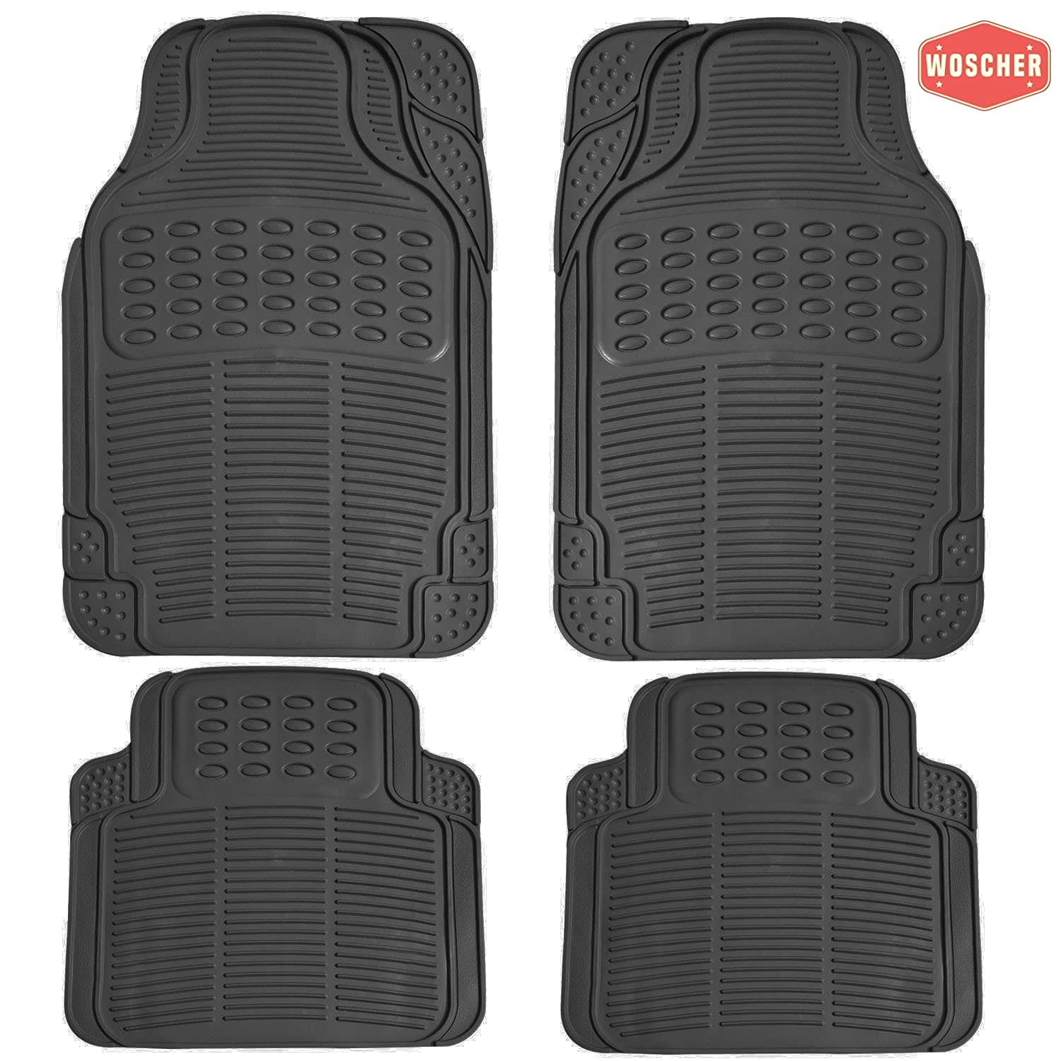 woscher-7904-felxtough-all-season-rubber-floor-car-mat-for-car-suv-universal-self-cut-to-perfectly-fit-black